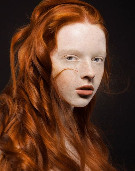 natural redhead eyebrows success for ginger haired models uk models