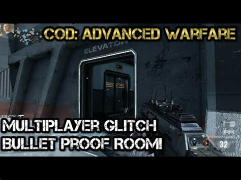 call of duty advanced warfare bullet proof room glitch