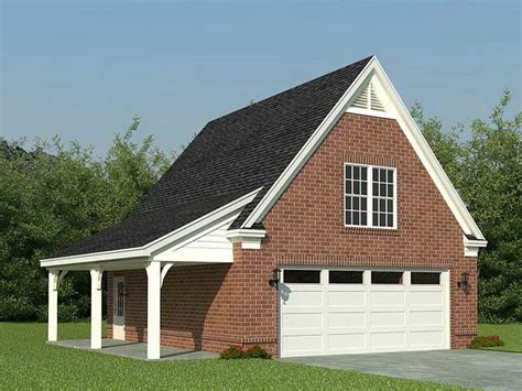 Single Detached Garage by Single Story House Plans With Detached Garage Cottage