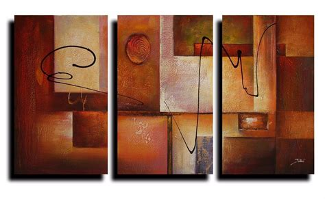 3 pictures framed canvas painting home decor wall painting 3 panel geometric graphes modern canvas art wall decor