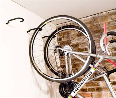 how to hang bicycles from the ceiling best 25 garage bike storage ideas on garage organization bikes bike storage and