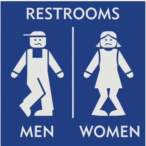 I Need To Use The Bathroom In Sign Language I Opening The Bathroom Door At Starbucks Brian Hunt