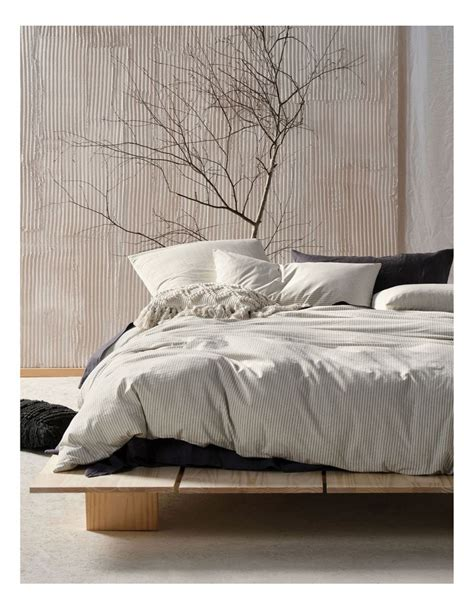 linen house napier quilt cover set myer