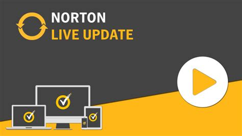 norton mobile account how to run liveupdate in your norton product