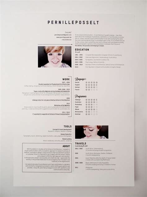 ultimate cv layout 30 best resumes for creative fields images on pinterest