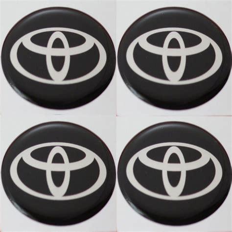 13 Zoll Felgen Aufkleber by 4 X Toyota Emblem Felgen Aufkleber Logo Nabendeckel