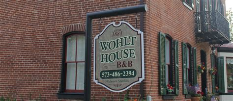 bed and breakfast in hermann mo wohlt house b b lodging in hermann missouri