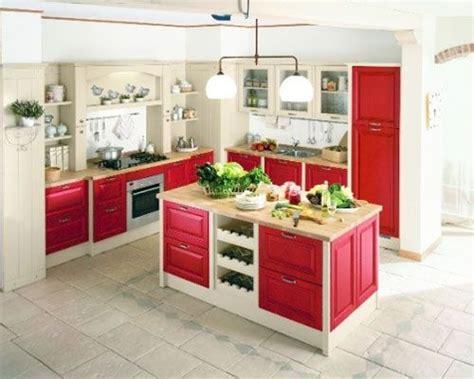 colori per interni cucina 1000 idee cucina rossa su progetti di cucine