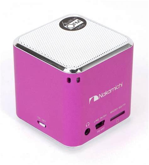 Speaker Mini Nakamichi nakamichi portable quot my mini plus quot speakers available mid january 2012