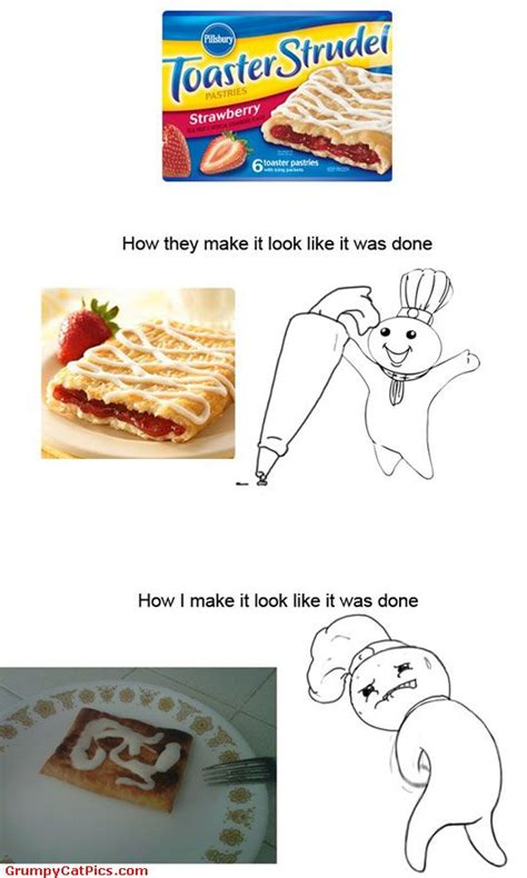 Toaster Strudel Meme - my dilema with toaster strudel box funny picture really