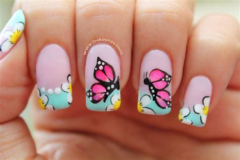 como pintar las unas con dibujos dise 241 o u 241 as mariposa como pintar las u 241 as dise 241 o