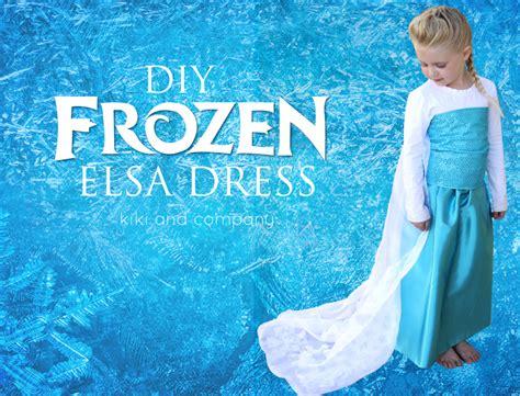 elsa house diy frozen elsa dress tutorial materials list and the