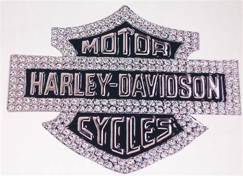 harley davidson wall decal harley davidson bling color window or wall 8 x 10