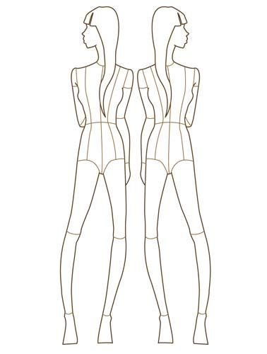 fashion figure templates fashion design templates mojomade