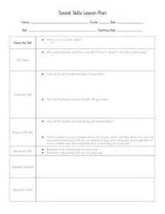 School Counselor Lesson Plan Template by 1000 Ideas About Lesson Plan Format On