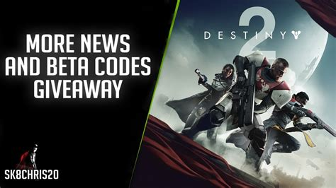 Destiny 2 Giveaway Codes - destiny 2 revealed more news brnad new enemy and beta codes giveaway youtube