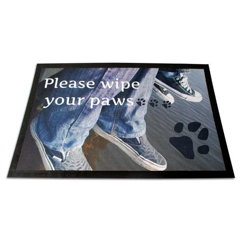 personalised door mats customise photo doormats uk
