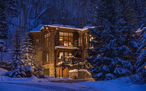 hous com nature trees forest architecture colorado usa house