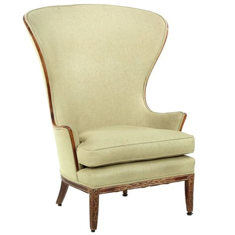 french wingback chair french provincial carved beechwood antique wingback