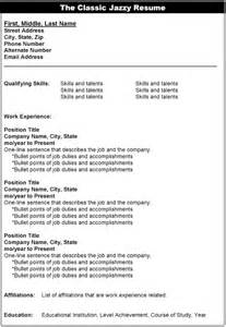 A Sle Of Resume by Resume Styles 1stopresume