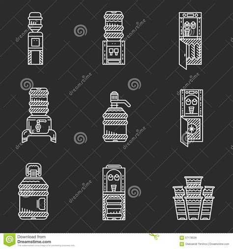 Mr Acrysion Water Based N11 Flat White Mr Hobby water coolers white line icons stock illustration image