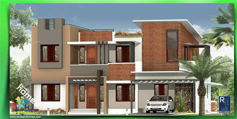 contemporary home design ideas modern house designs keralareal estate kerala free classifieds