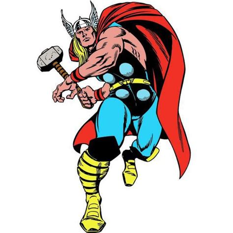 classic marvel wallpaper rmk3473gm classic thor comic giant decal wallpaper the