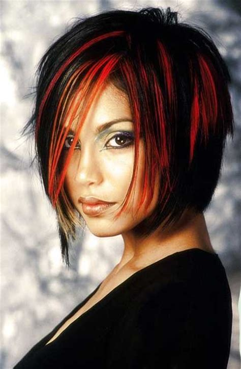 hairstyles red and black hair hair color for short hair 2014 short hairstyles 2017