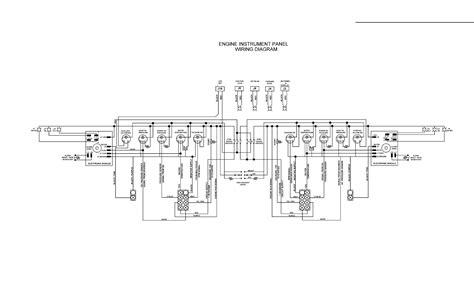 boat instrument panel wiring diagram wiring diagram with