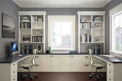 white home office home office ideas with built in cabinets