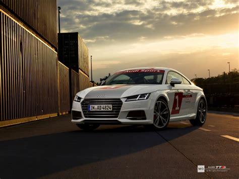 Audi Tts Mieten by Audi Tts Wandbild Auf Geb 252 Rstetem Aluminium Quot Sonnenuntergang Quot