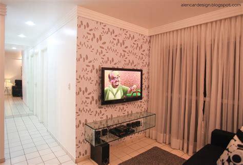 decorar parede da sala barato sala decorada papel de parede fotos e dicas