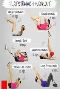 belly workout at home flat stomach workout