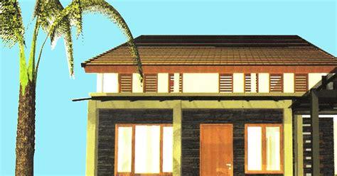 tutorial desain grafis rumah rumah tingkat dengan konsep memanfaatkan ruang di bawah