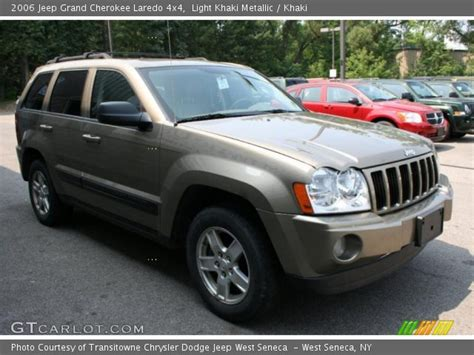 2006 Jeep Laredo Light Khaki Metallic 2006 Jeep Grand Laredo 4x4