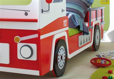 autobett feuerwehr truck bett kinderbett autobett feuerwehr truck bett kinderbett rot wei 223 ebay