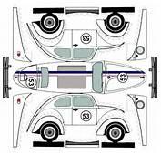 VW Beetle  Herbie Paper Cars Vehicles Pinterest Vw Beetles