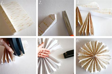 accordion paper flower tutorial ruffle birthday party a subtle revelry