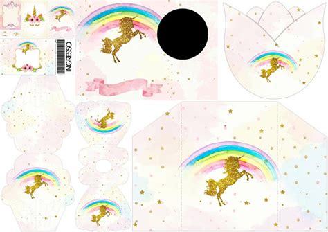 decoracion para 15 años fiesta de unicornios invitaciones para imprimir gratis