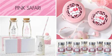 Safari Baby Shower Supplies by Pink Safari Baby Shower Supplies City