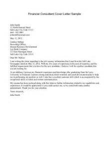 Customer Service Consultant Cover Letter by Cover Letter Consulting Cover Letter Templates