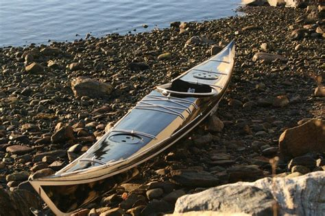 Handmade Wooden Kayak - petrel guillemot kayaks small wooden boat designs