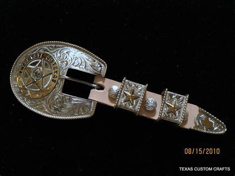 Ranger Belts Handmade - custom handmade ranger buckle set by custom crafts