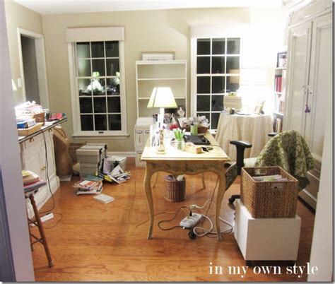 how to decorate a home office home office no cost decorating switcheroo in my own style