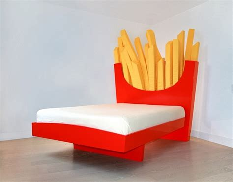 supersize french fries bed