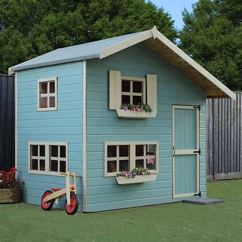 mercia double storey cottage playhouse ft  ft elbec