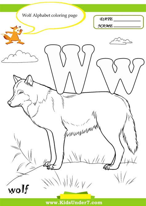 color w free coloring pages of things that start with w