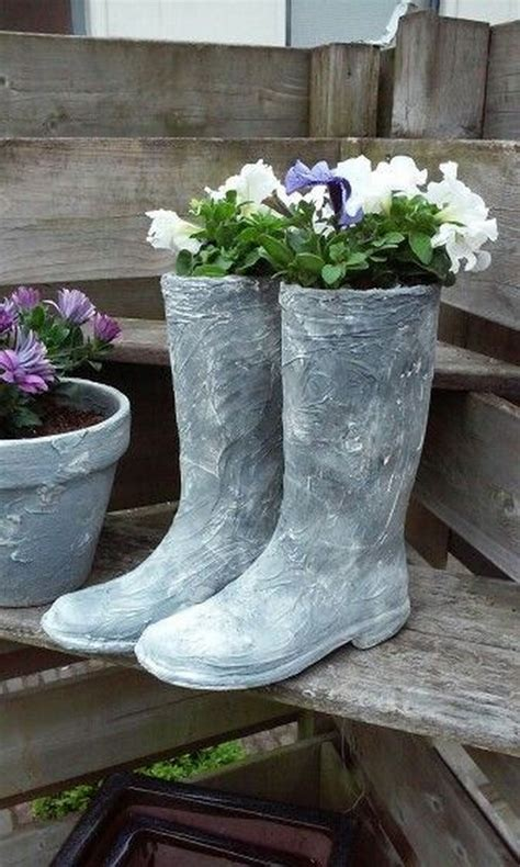 Cement Garden by 15 Awesome Concrete Garden Decor Ideas To The Most