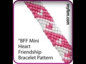 heart pattern friendship bracelet youtube friendship bracelet tutorial mini heart bff pattern youtube