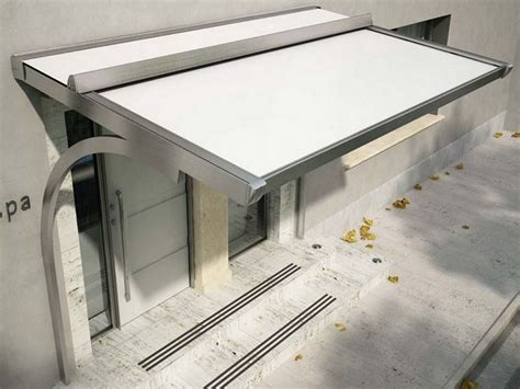 tettoie ingresso esterno pensiline tettoie